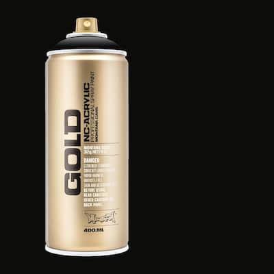 11 oz. GOLD Spray Paint, Shock Black