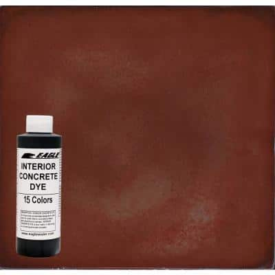 1 gal. Roast Pepper Interior Concrete Dye Stain Makes with Water from 8 oz. Concentrate