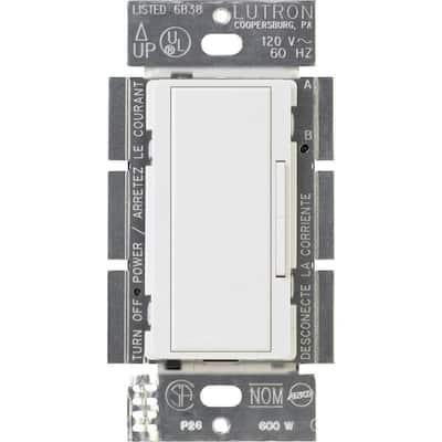 Maestro 600-Watt Multi-Location Companion Dimmer - White
