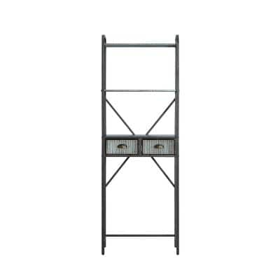 Montclair 23.6 in. W x 11.42 in. D x 72.6 in. H Space Saver Metal