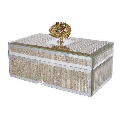 Sullivan Multicolor Medium Striped Decorative Box