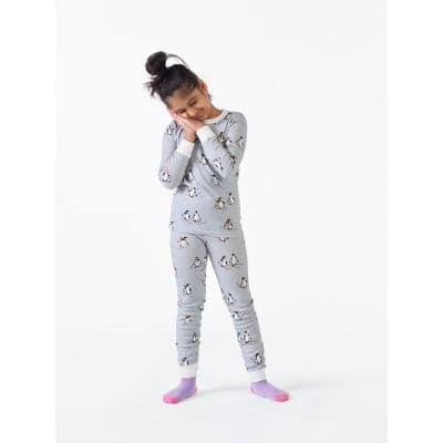 Family Snug-Fit Company Organic Cotton™ Kid's Pajama Set in Penguin