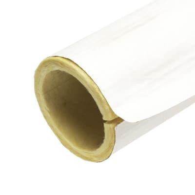 3 in. x 3 ft. Fiberglass Self-Sealing Pre-Slit Pipe Cover