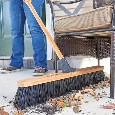 24 in. Outdoor Heavy-Duty Push Broom