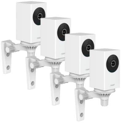 WiFi 1080p Wireless Security Camera with Night Vision, 2-Way Audio, Cloud Storage, Auto Track Pan/Tilt/Zoom (4-Pack)