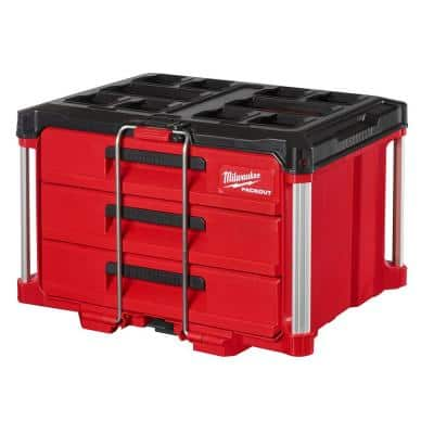PACKOUT 3-Drawer Tool Box
