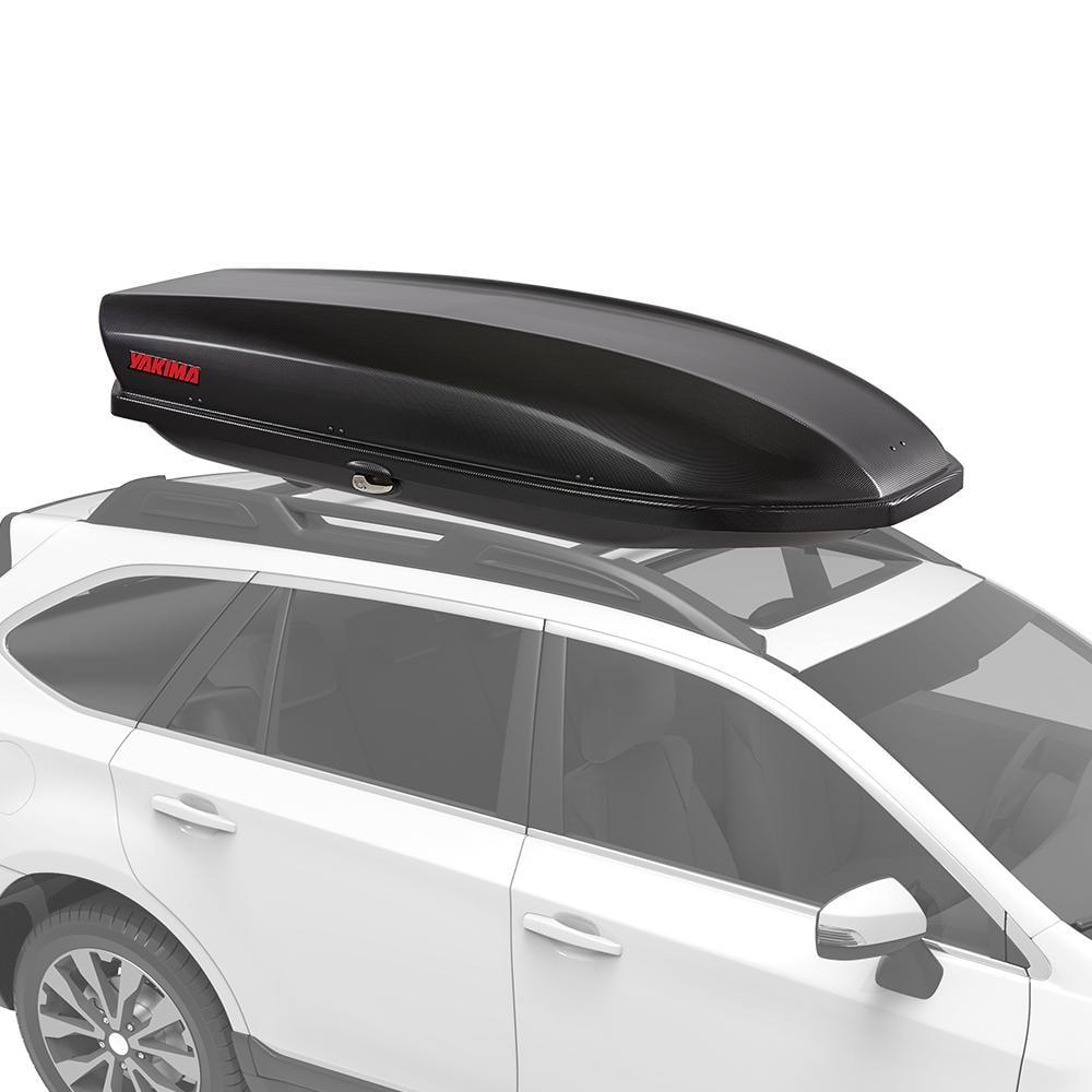 Yakima SkyBox 16 Carbonite Locking Water Resistant Rooftop Cargo Box