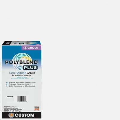 Polyblend Plus #640 Arctic White 10 lb. Non-Sanded Grout