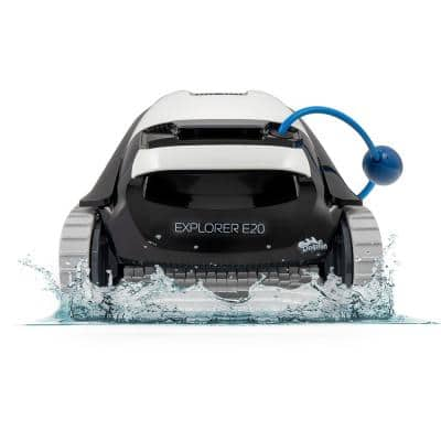 Explorer E20 Robotic Vacuum Pool Cleaner for In-Ground Swimming Pools up to 33 ft.