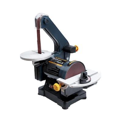 Belt Disc Sander for Woodworking, 1 in. x 30 in. Belt Sander with 5 in. Sanding Disc