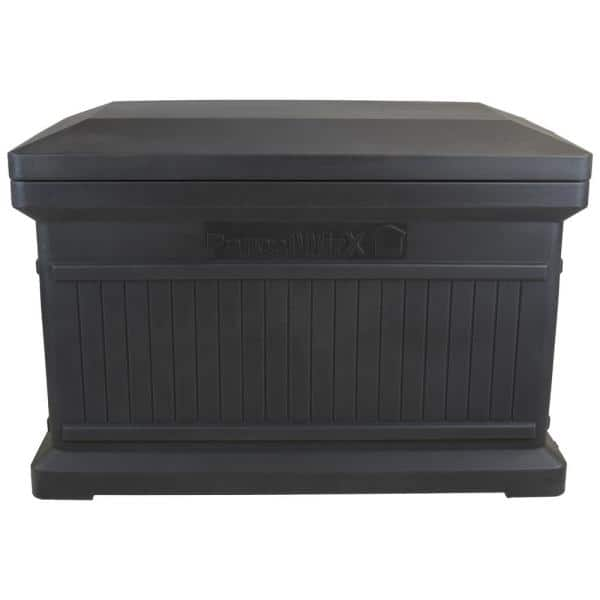 Rts Home Accents Parcelwirx Graphite, Outdoor Drop Box For Packages