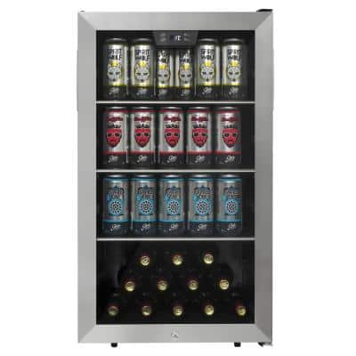 Single Zone, 18.9 in. 124 Cans Free-Standing Beverage Center