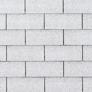 Supreme Shasta White 3-Tab Roofing Shingles (33.3 sq. ft. per Bundle)