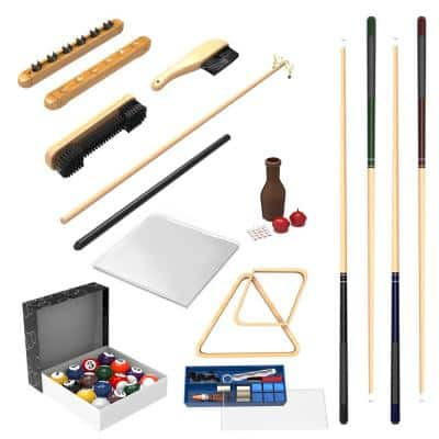 32-Piece Pool Table Accessory Kit