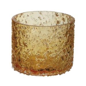 3 in. Sunglow Rock Salt Votive Candle Holder