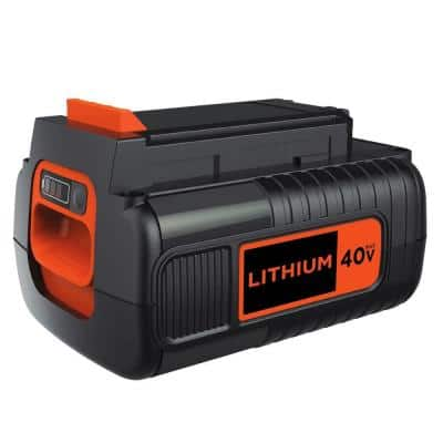 40-Volt MAX Lithium-Ion Battery Pack 2.0Ah