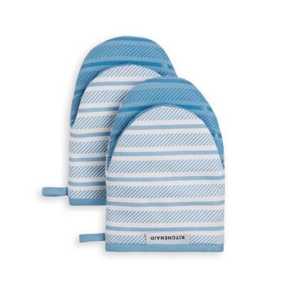 Albany Cotton Blue Mini Mitt (2-Pack)