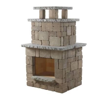 Santa Fe Compact Outdoor Fireplace