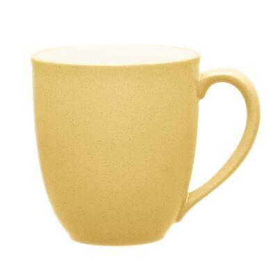 Colorwave Mustard Yellow Stoneware Mug 12 oz.