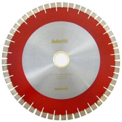 16 in. Bridge Saw Blade with V-Shaped Segment for Granite Cutting