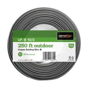 250 ft. 10/3 UF-B Cable