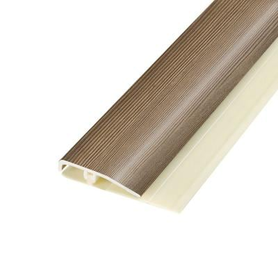Burleson Pine 0.28 in. Thick x 1.7 in. Wide x 78.7 in. Length Vinyl End Molding