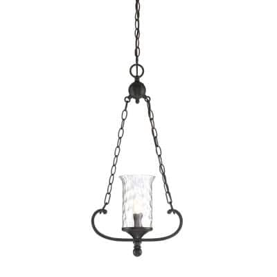Amilla 1-Light Natural Iron Mini-Pendant