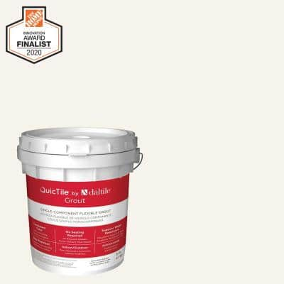 QuicTile D152 Frost 9 lb. Pre-Mixed Urethane Grout