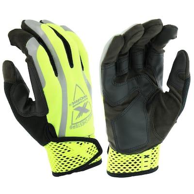 Men's XL Hi-Vis Work Glove