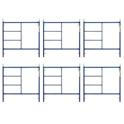 Saferstack 5 ft. x 5 ft. Mason Scaffold Frame (6-Pack)