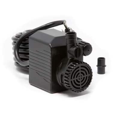 290 GPH Auto Shut-Off Submersible Fountain Pump