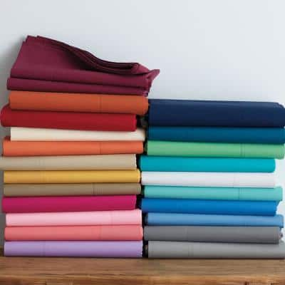 Classic Cotton Percale Pillowcase (Set of 2)