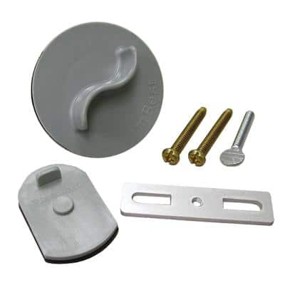 Bath Tub Drain Waste and Overflow Test Kit for 2-Hole Faceplates