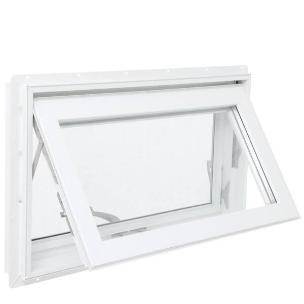 Tafco Window Vinyl Heavy Duty Hopper Ranch Full Screen White Large 46 in x 21 in