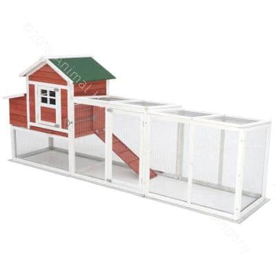 3 ft. Wire Run Chicken Coop Extension Kit for The Chick-Inn Coops