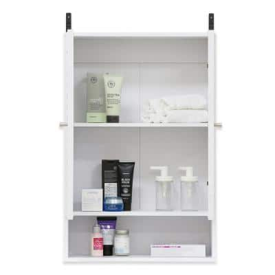 Indo White Double Door Wall Cabinet