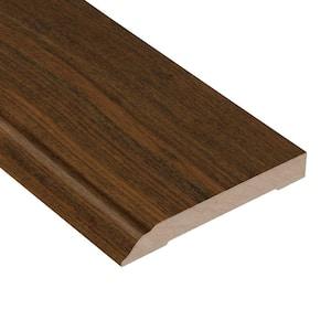 Brazilian Walnut Gala 1/2 in. Thick x 3-1/2 in. Wide x 94 in. Length Wall Base Molding