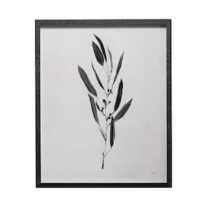 Botanical Study I Framed Art Botanical Print (25.5 in. x 31.5 in.)