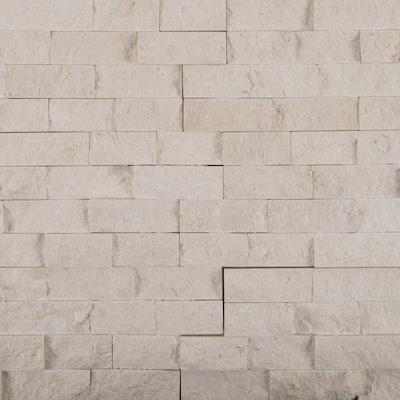 Freska Splitface Ledger Panel 6 in. x 24 in. Natural Limestone Wall Tile (6 sq. ft./Case)