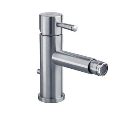 Serin Single Hole Single Handle Bidet Faucet in Polished Chrome