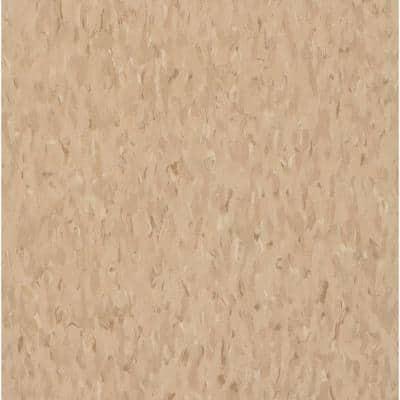 Imperial Texture VCT 12 in. x 12 in. Nougat Standard Excelon Commercial Vinyl Tile (45 sq. ft. / case)
