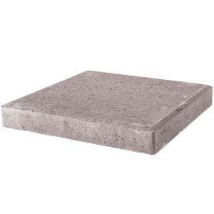 24 in. x 24 in. x 1.96 in. Pewter Square Concrete Step Stone (14-Pieces/56 sq. ft./Pallet)