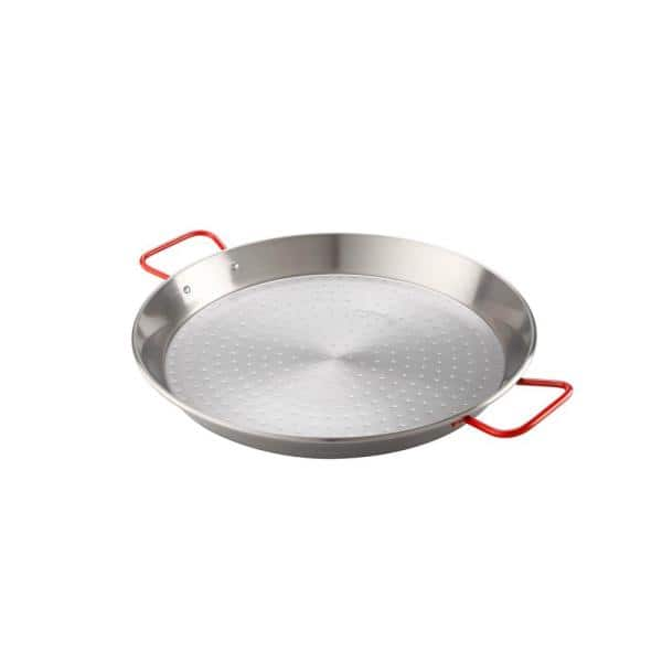 Magefesa Pizza And Paella 12 In Carbon On Steel Pan 01papaepu30 The Home Depot