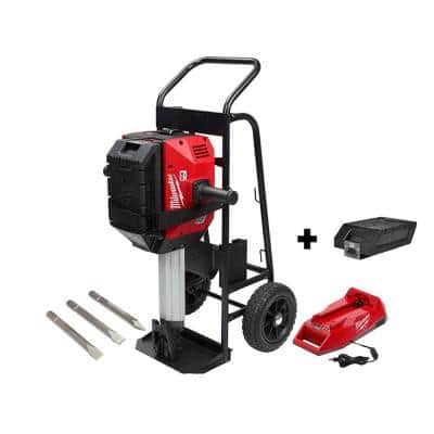 MX FUEL 1-1/8 in. Lithium-Ion Cordless Breaker with 1 Free Lithium-Ion REDLITHIUM XC406 Battery Pack