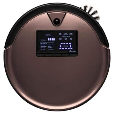 PetHair Plus Robotic Vacuum Cleaner and Mop, Mocha