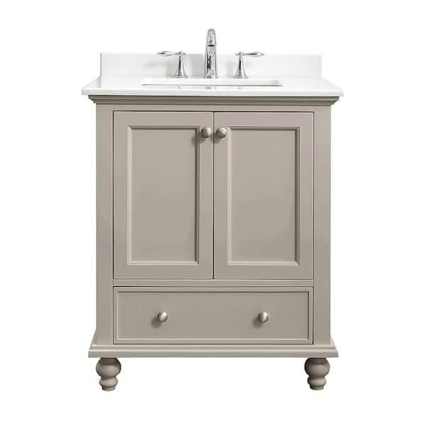 Home Decorators Collection Orillia 30, Home Depot Bathroom Vanities 30