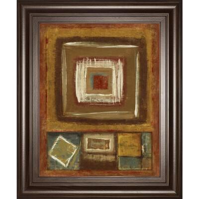 """""""In The Rough"""" By Jenny Siekmann Framed Print Wall Art 26 in. x 22 in."""