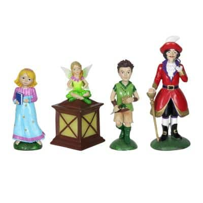 Neverland Mini Fairy Tale Garden Statue (4-Pack)
