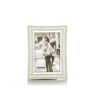 Beaded Metal Picture Frame 4 x 6