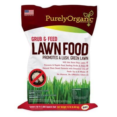 15 lbs. Grub and Feed Lawn Food 10-0-2, Covers 3,000 sq. ft.